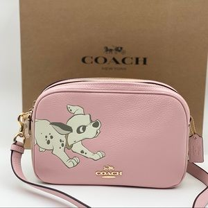 Disney x Coach Jes Crossbody Bag with Dalmation